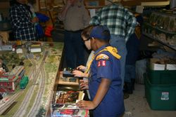 Scouts at OPSME