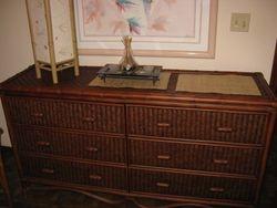 Bedroom Bamboo Dresser