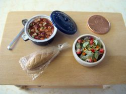 Soup, Salad and Bread 4