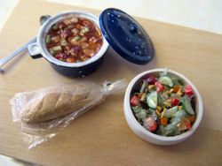Soup, Salad and Bread 7