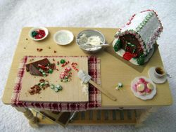 Making a Gingerbread House for Christmas