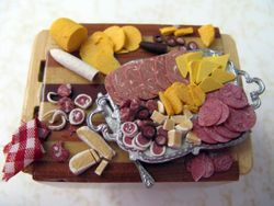 Meat and Cheese Prep Display 5
