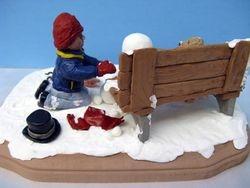 Travis Building a Snowman 3