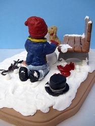 Travis Building a Snowman 8