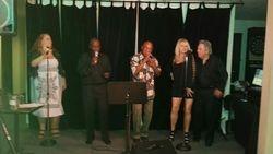 At Gary's Show. Aurora Eagles.