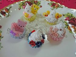 Cupcake Necklace Collection