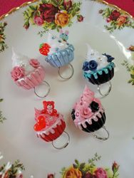 Cupcake Ring Collection