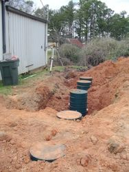 Grease Trap and Septic Tank in Series