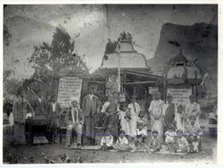 THE SIVA SOOPRAMANIEN KOVIL AT BOUNDARY ROAD ROSE HILL IN 1938