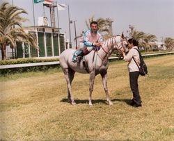 Shaalan's Last Race. and Last Hug