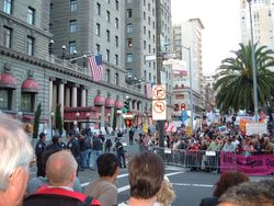 SF Protests, Obama In Town, October 2009