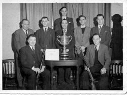 GPO Rifle Team - Greening Trophy - Sent by Frank Witton