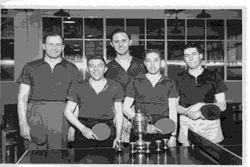 Table Tennis Team - Sent by Frank Witton