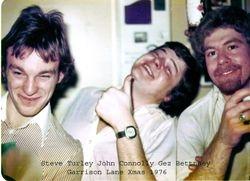 G/L Xmas 1976 - from Jum Wood.