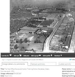Fordrough Lane site 1921.
