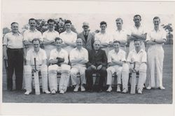 POST OFFICE STORES CRICKET TEAM 1952/53.