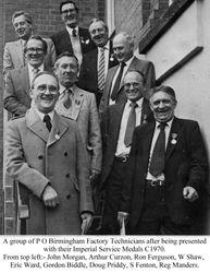 Birmingham Factory Technicians 1970