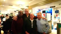 Neville Shand, Allan Recardo, Brian Fitter & Jim Wood.2nd October 2017.