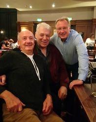 Brian Fitter, Allan Recardo & Jim Wood. 2nd October 2017.