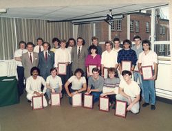 The Class of Sept. 1982. Donated By David Law.