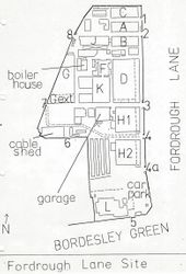 Site Map 1. Plan of buildings
