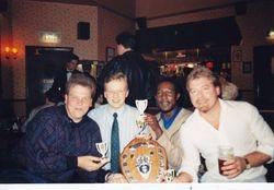 Tony Workman, Dave Powell, ??, & Gez.