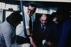 ??, Bob Cawley, Norman Hands, ??,