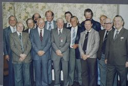 POEU Branch Officers and Committee 1982