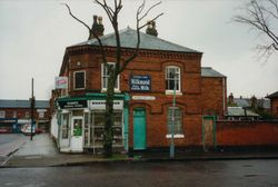 Shop at Corner of Cherrywood Road and Fordrough Lane.