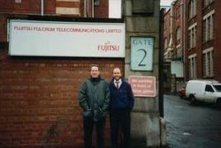 Richard Steele & Steve Waldron outside Gate 2?