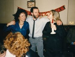 BT Party 1988 - Wafto & Elaine P. ?