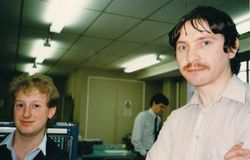 BT Party 1988 - Terry Stanfield & ?