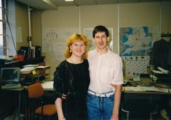 BT Party 1988 - Terry Brown & ?