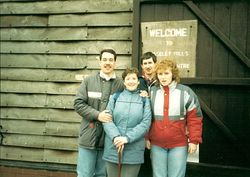 Richard(Dick) & Isobel Steele & Terry & Liz Brown.