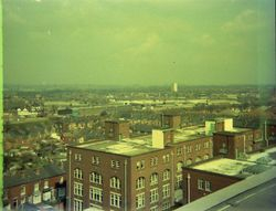 View North from the Roof of J. Block.