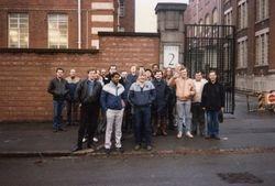 Picketing the Depot Gate 1984 -BT Priavitisaion