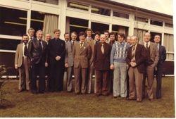 BIRMINGHAM, CWMCARN & LONDON - TIME & MOTION STUDY  STAFF - CWMCARN 1979.