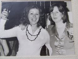 A Young Joan Bettney & Mrs Fitter
