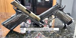 ROCK ISLAND ARMORY 1911 Double Stack smooth blk CF mounted