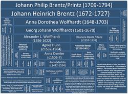 Alexander Wolffhart Position on Family Tree