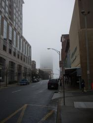 A building Disappears...