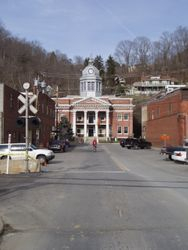 Welcome to Marshall, in Madison County NC