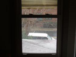 Tuesday Morning - SNOW!