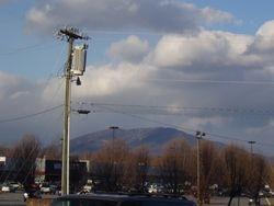 A Mountain - A Wal-Mart
