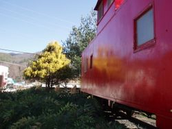 The Welcome Center Caboose