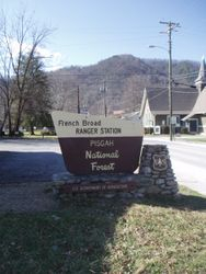 Old style National Parks sign