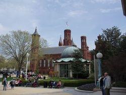 Outside Freer Museum
