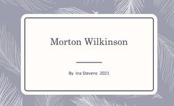 Col. Morton Wilkinson