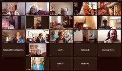Zoom Meeting held Virtually