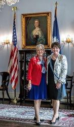 Florida State Regent with Regent Skinner
